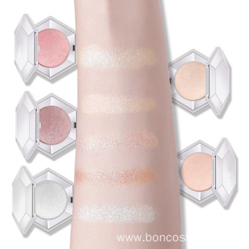Highlighter Makeup Shimmer Glow Powder Highlighter Palette