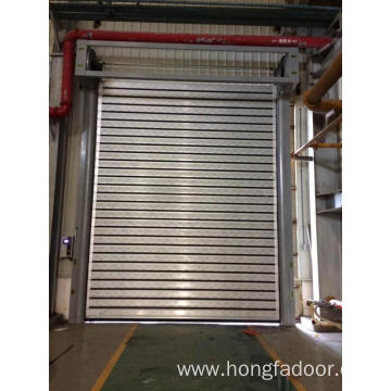 metal hard fast door