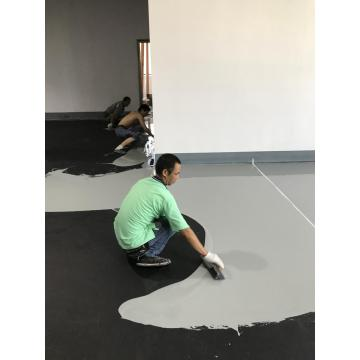 High strength epoxy flat topcoat coating