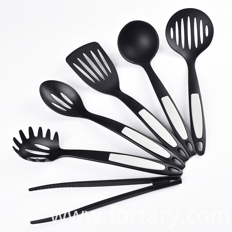 Cooking Utensil Set with Food Tongs