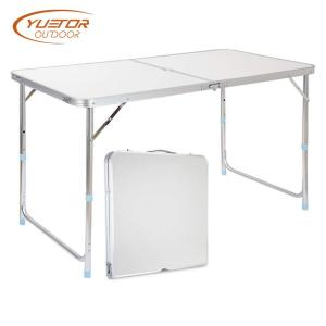 4 Foot Adjustable Height folding picnic table