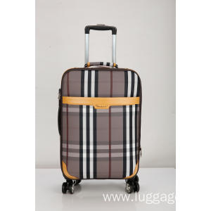 New Product for Four Wheeled Trolley Luggage Printed upright caster EVA  Luggage export to Luxembourg Supplier