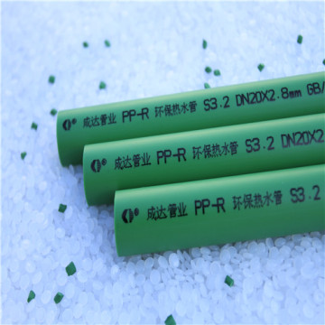 Green PPR water Pipes for cold water