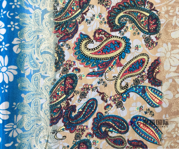 Popular 100% Rayon Printed Fabric