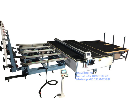 LAMINATED GLASS CUTTING Line