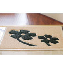 Factory high quality entrance door mat with pattern