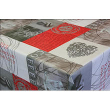 Elegant Tablecloth with Non woven backing Wall Designs