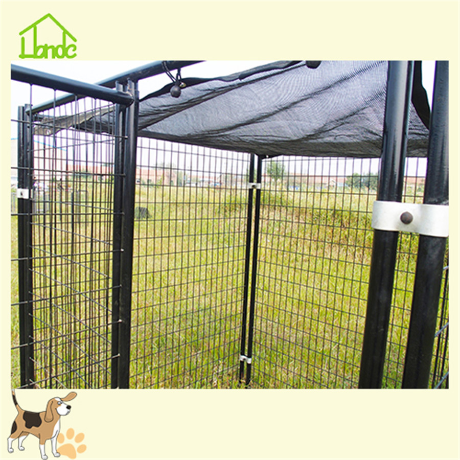 Outdoor large round tube dog kennel for sale