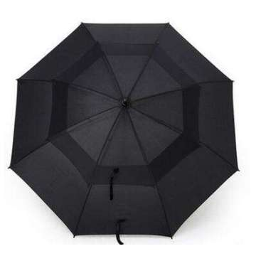Double Layer Pocket Folding Men Umbrella Automatic