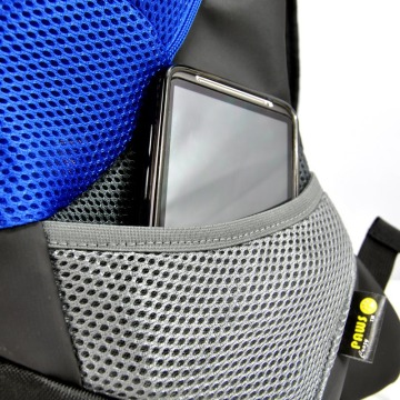 Yellow Small PVC and Mesh Pet Backpack