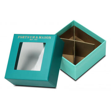 Stylish 2pcs Candy Box with Square Window
