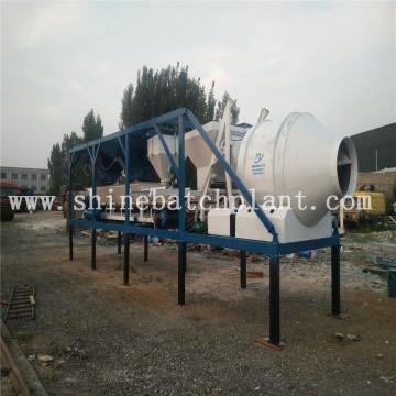 20 Hot Mobile Concrete Batching Plant