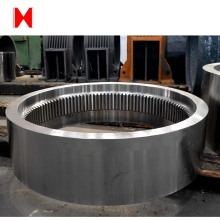 forging carbon steel internal gear ring