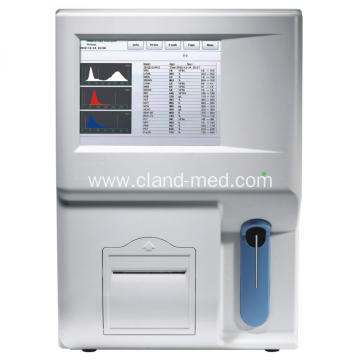Fully automatic 3 Diff Hematology Analyzer 2 Chambers