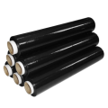 black plastic wrap stretch film for packaging