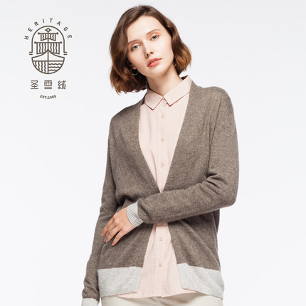 95% Wool 5% Cashmere Sweater