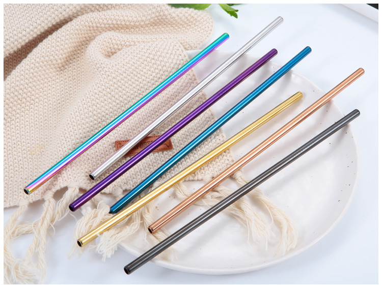 Stainless Steel eco drinking straws