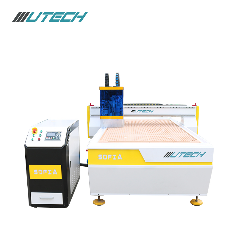 cnc router oscillating knife cutting machine