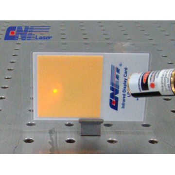 Eyes Can See IR Laser Upconversion Materials Card