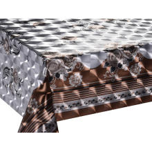 Best quality and factory for Double Face Coating Tablecloth Double Face Emboss printed Gold Silver Tablecloth Oblong export to Armenia Manufacturers