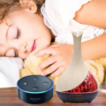 Alexa Smart Ultrasonic Scent Diffuser with Essential Oils
