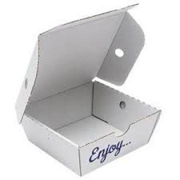 Disposable food packaging paper box for frozen food