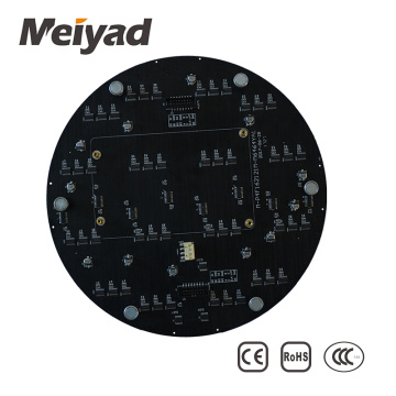 Hot P4 circular led display led screen panel
