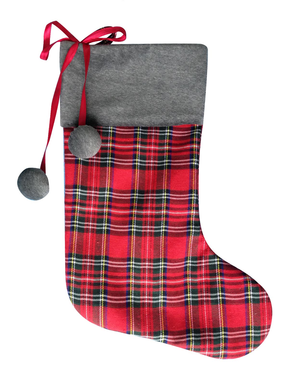 Scottish style christmas stocking