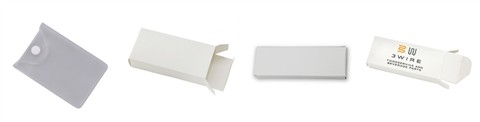usb flash drive white box package