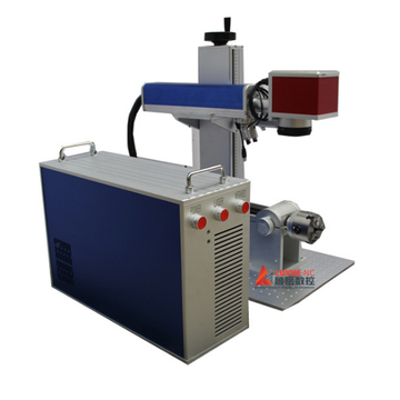 Rotary Desktop Fiber Laser Marking Machine