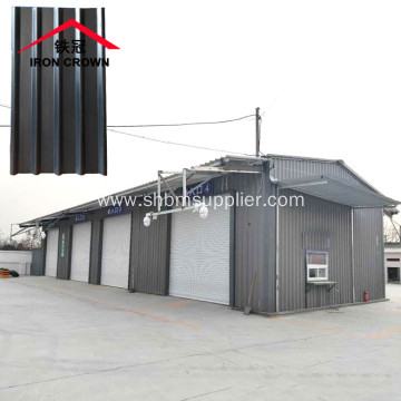 Iron Crown Fire-proof Heat-insulation MgO Roofing Sheets