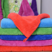 best microfiber coral fleece towels cleaning cloth