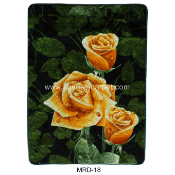 Polyester Embossing with Design Carpet