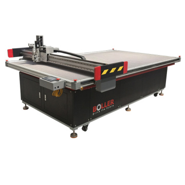 Automatic CNC Car Mat Oscillating Knife Cutting Machine