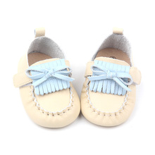 2018 Soft Leather Mary Jane Cute Baby Shoes