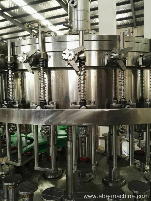 Carbonated Drink Beverage Washing Filling Capping Machine