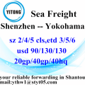 Shenzhen Sea Freight Shipping Services to Yokohama