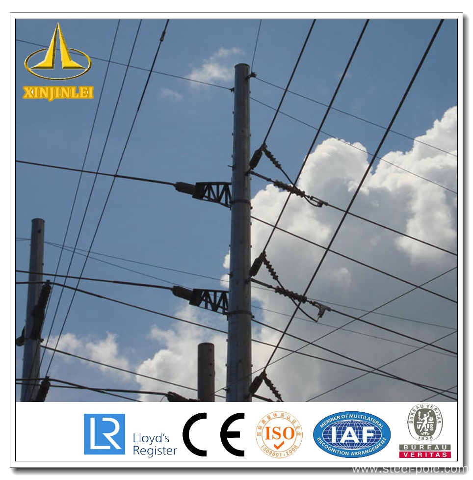 Electric 500kv Steel Power Pole