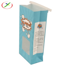 CMYK accept custom  window paper bag