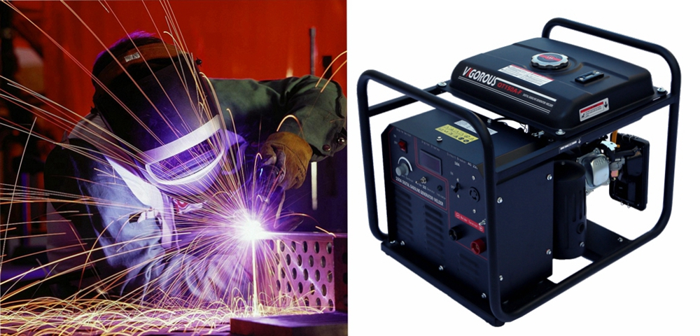 Vigorous Welder Generator