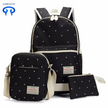 Korean version tide students school bag