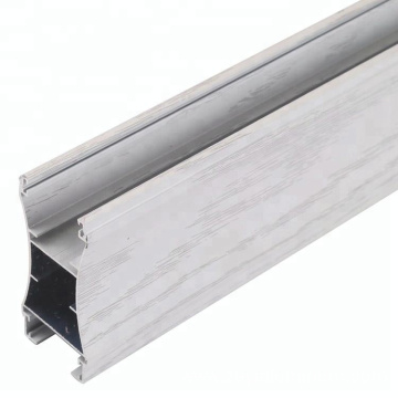 Wood Grain Aluminum Profiles For Wardrobe Door