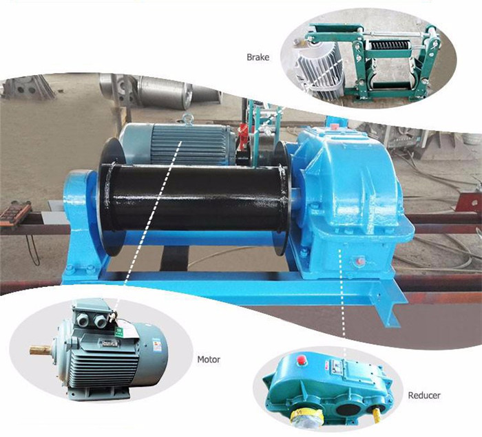 Lifting Electric Winch For Drilling