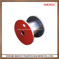flat copper wire scrap thread spool