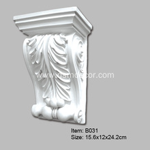 Special Design for Pu Corbel Moulding Polyurethane Foam Chesterfield Corbels export to South Korea Exporter