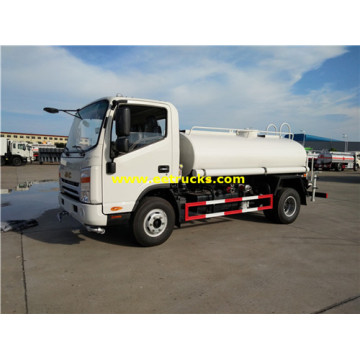 JAC 130HP 4200L Drinking Water Trucks