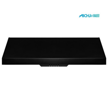 30 Inch In Vented Matte Black RangeHood