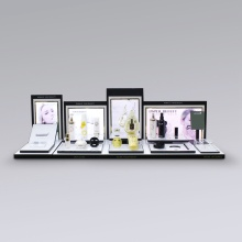 LED mixed Acrylic Perfume Display Stand
