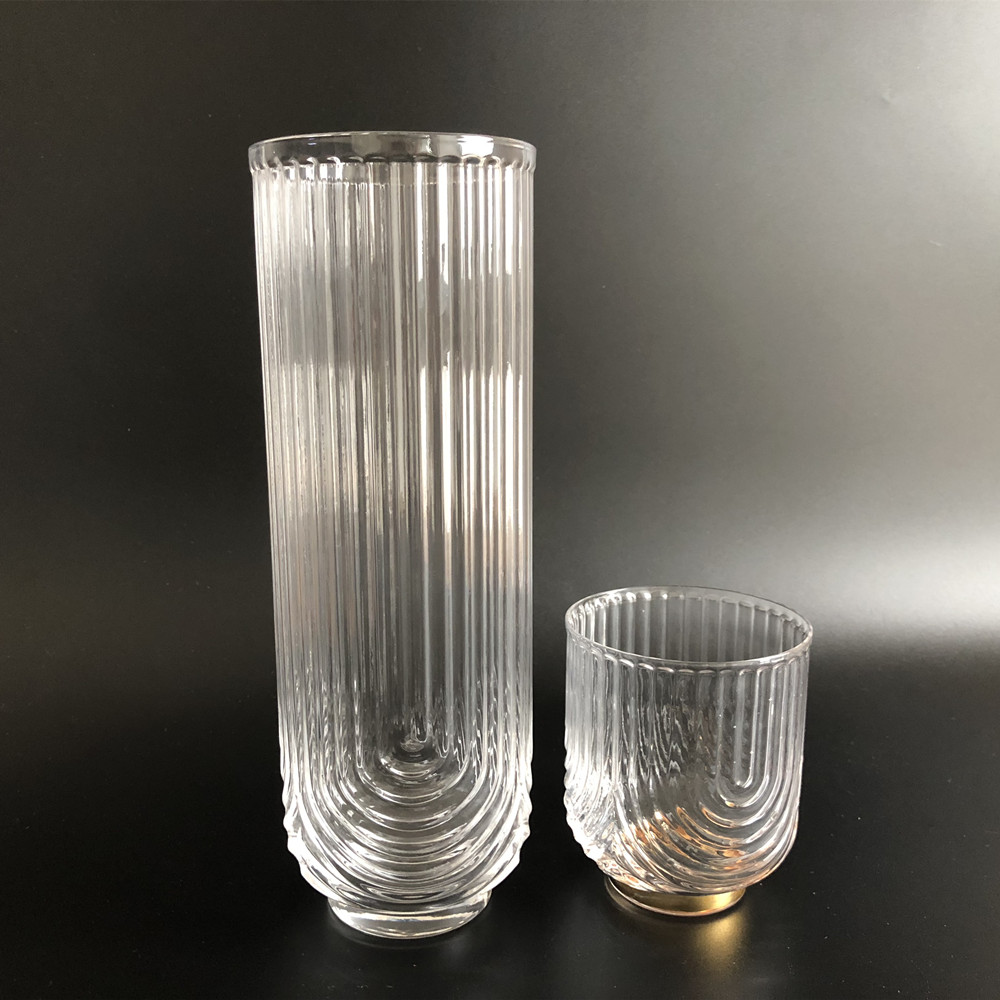 Handmade Glass Carafe Water Tumbler1