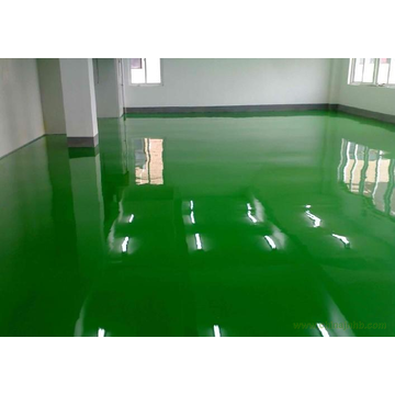 Indoor solvent-free epoxy self-leveling varnish